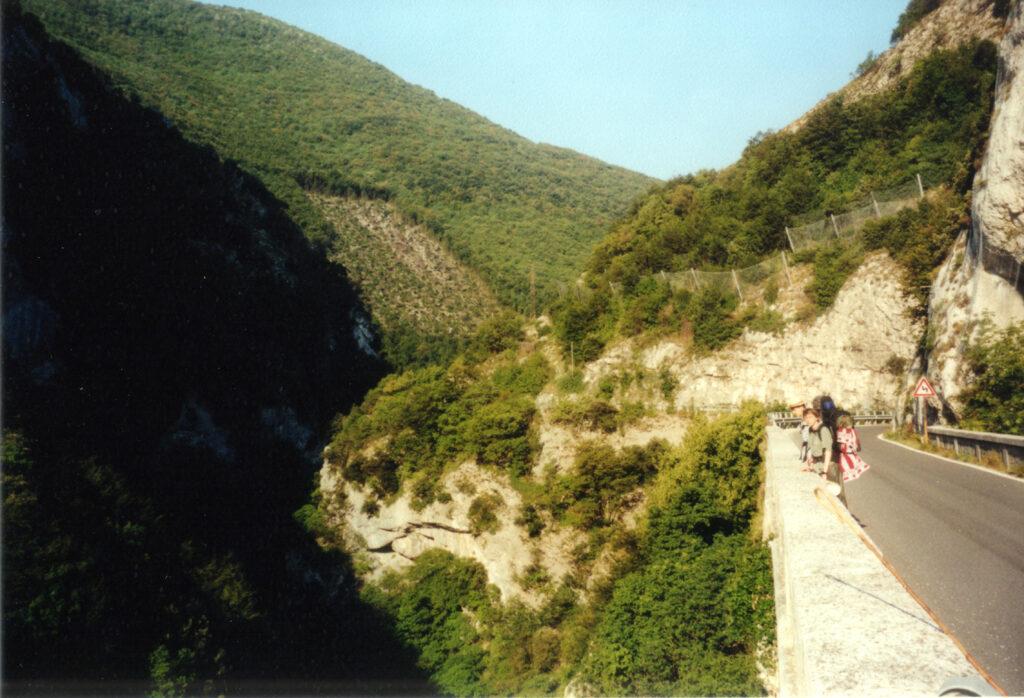 Assisi - Mountain Road